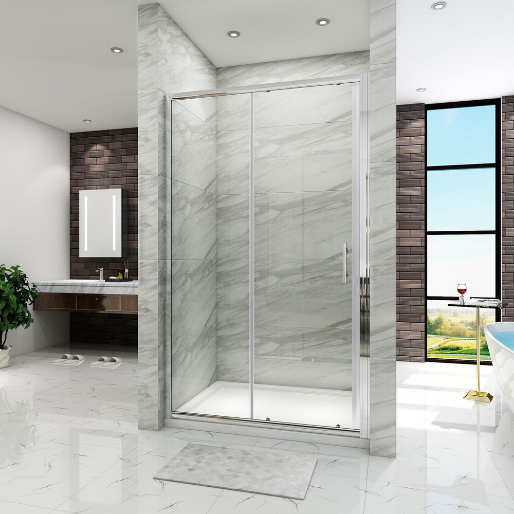 1200mm sliding shower door enclosure cubicle screen glass for 1200mm shower door sliding