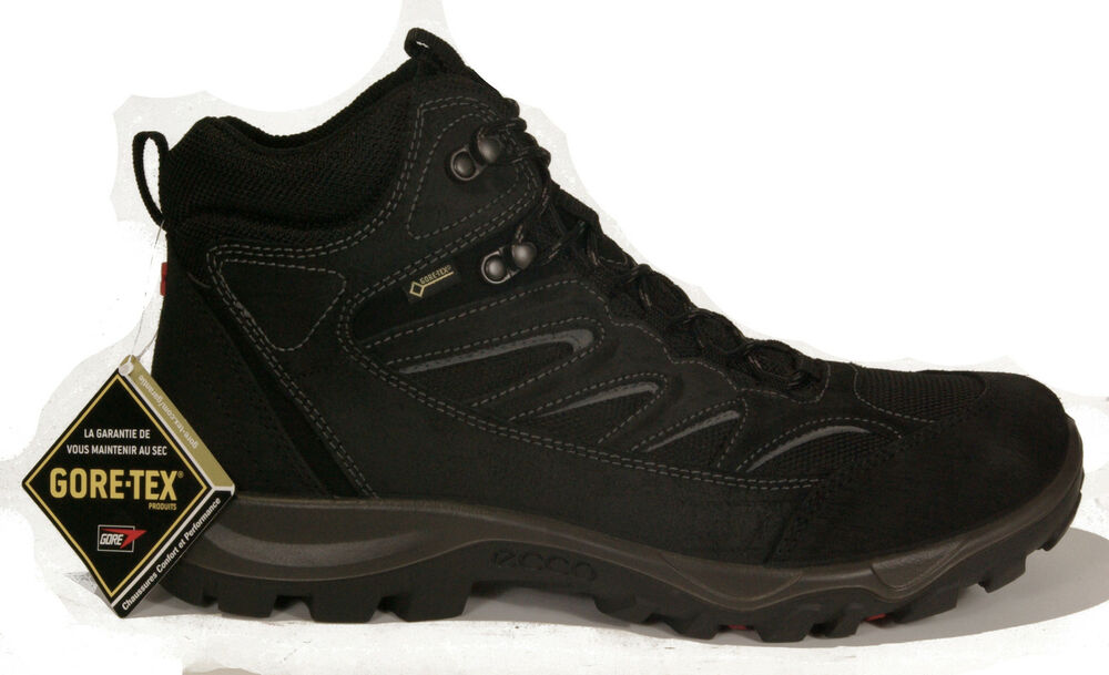new ecco mens shoes hiking xpedition ii lace up black