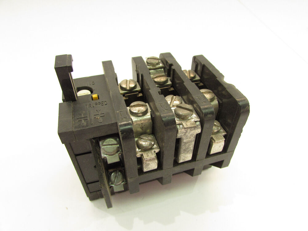 Ge cr324c310a overload relay xlnt ebay for Manual motor starter with overload protection