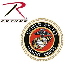 United States Marine Corps Seal Decal Sticker Back Gum 3.5'' X 3.5'' Rothco 1219