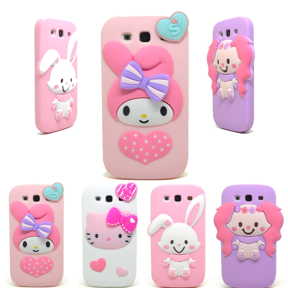 ... Melody Rabbit Silicone Case for Samsung Galaxy S3 / S4 / N2 : eBay