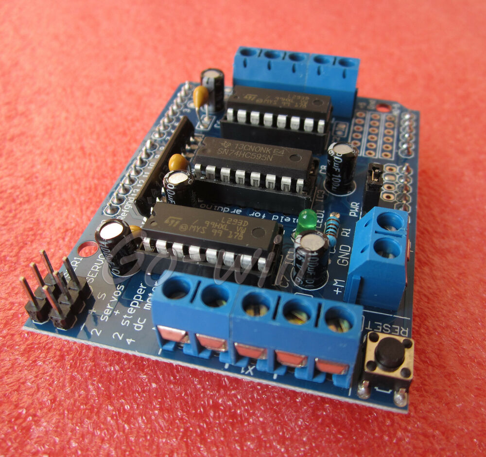 1pcs Motor Drive Shield Expansion Board L293d For Arduino