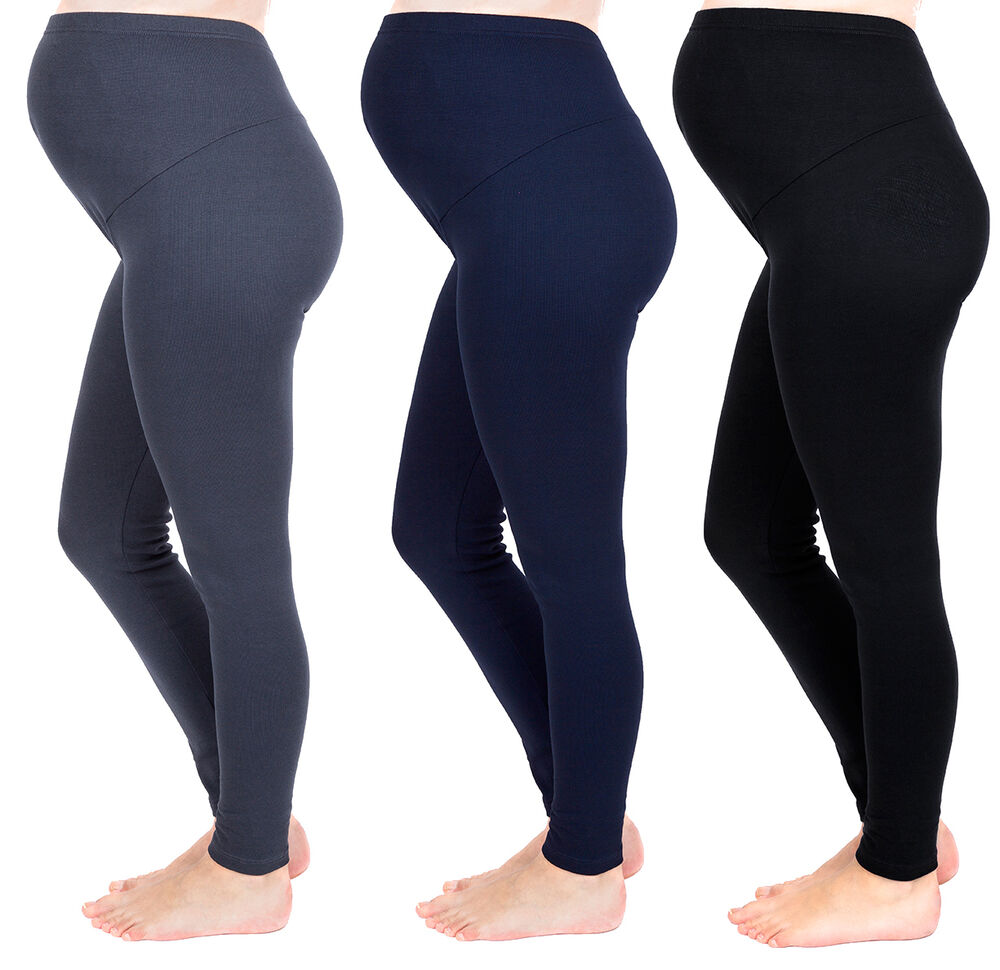 Made from a combination of cotton and spandex, the Secret Fit Belly Maternity Leggings from Motherhood is a comfortable maternity legging can easily become one of your favorite pieces of clothing while you are going through your pregnancy.