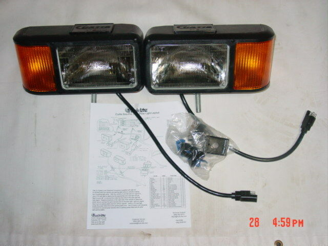 Curtis sno pro plow lights snowplow light kit truck