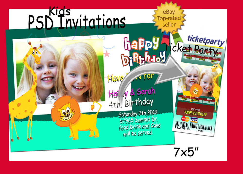 CHRISTMAS INVITATION/TICKET Card Design For Free ...