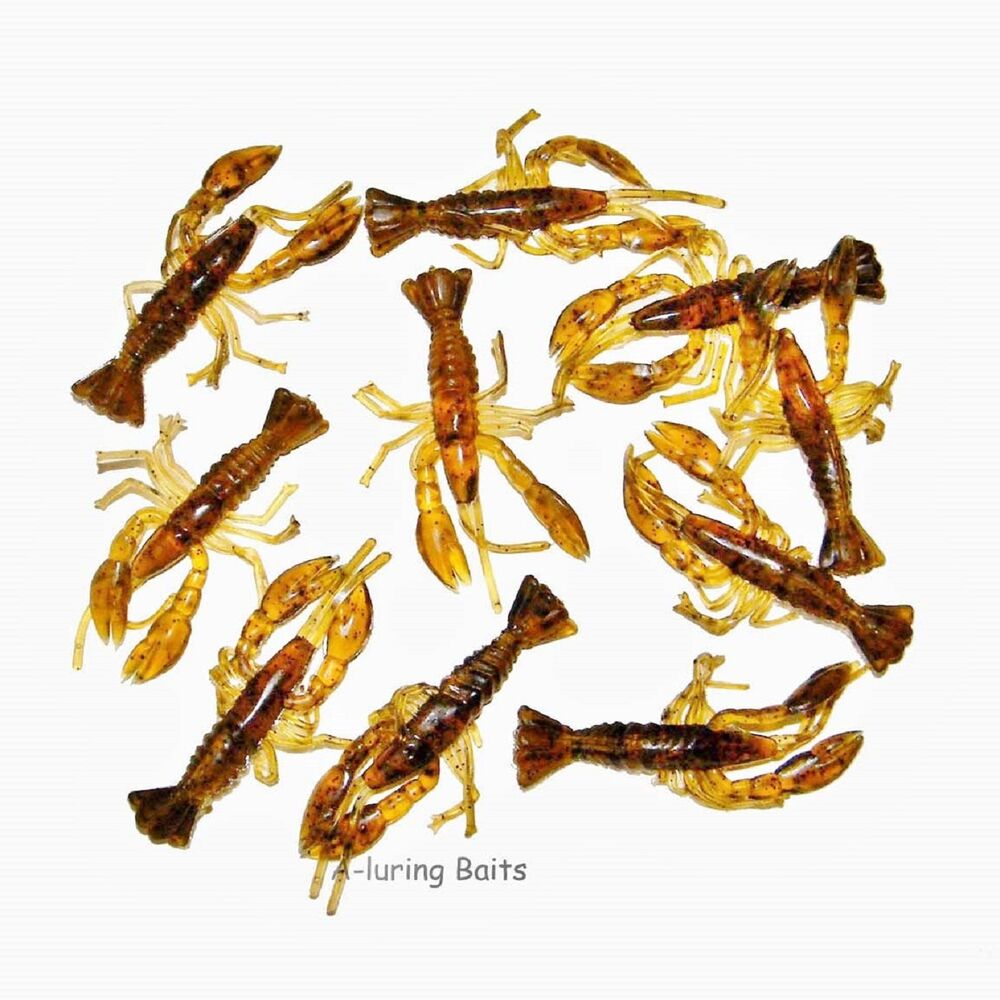 Lobster Crayfish Baby Fry Soft Lure Bait Rig & Jigs Fishing Tackle Drop Shot   eBay