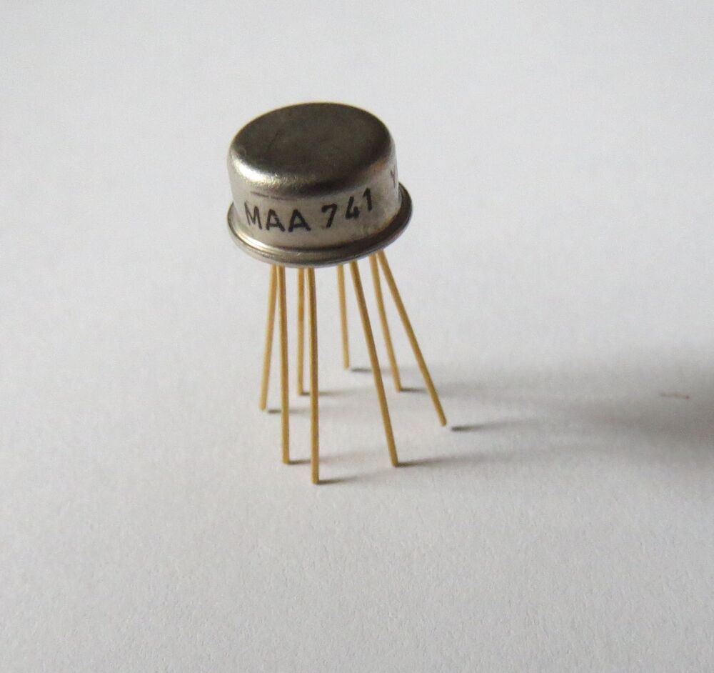 maa741 tesla op amp operational amplifier metal can ic 741 lm741 ua741 ebay. Black Bedroom Furniture Sets. Home Design Ideas