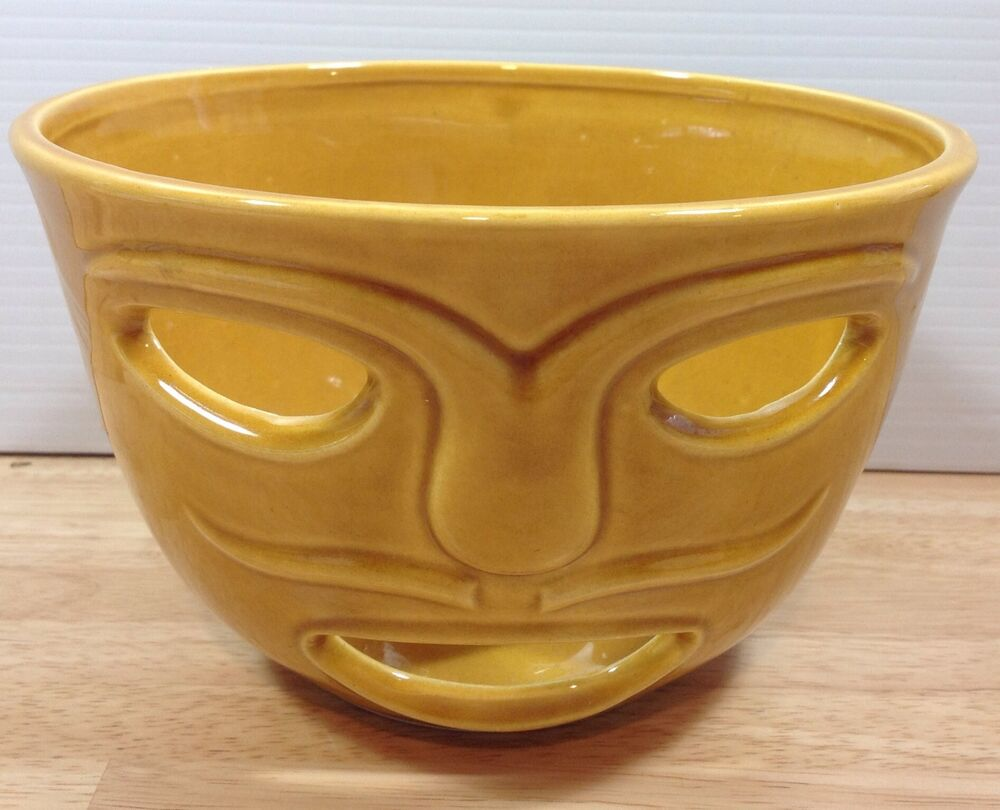 Food Warmer Candle ~ Senor pico face food warmer candle holder tiki trader vics