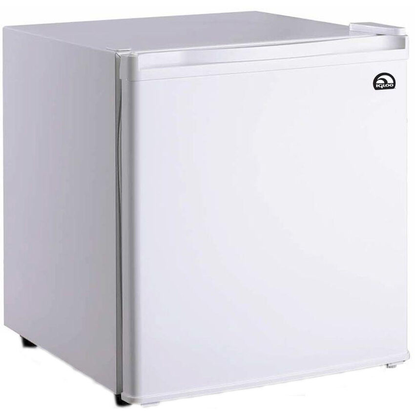 Compact 1 7 cu ft white refrigerator w ice box small for 0 1 couch to fridge