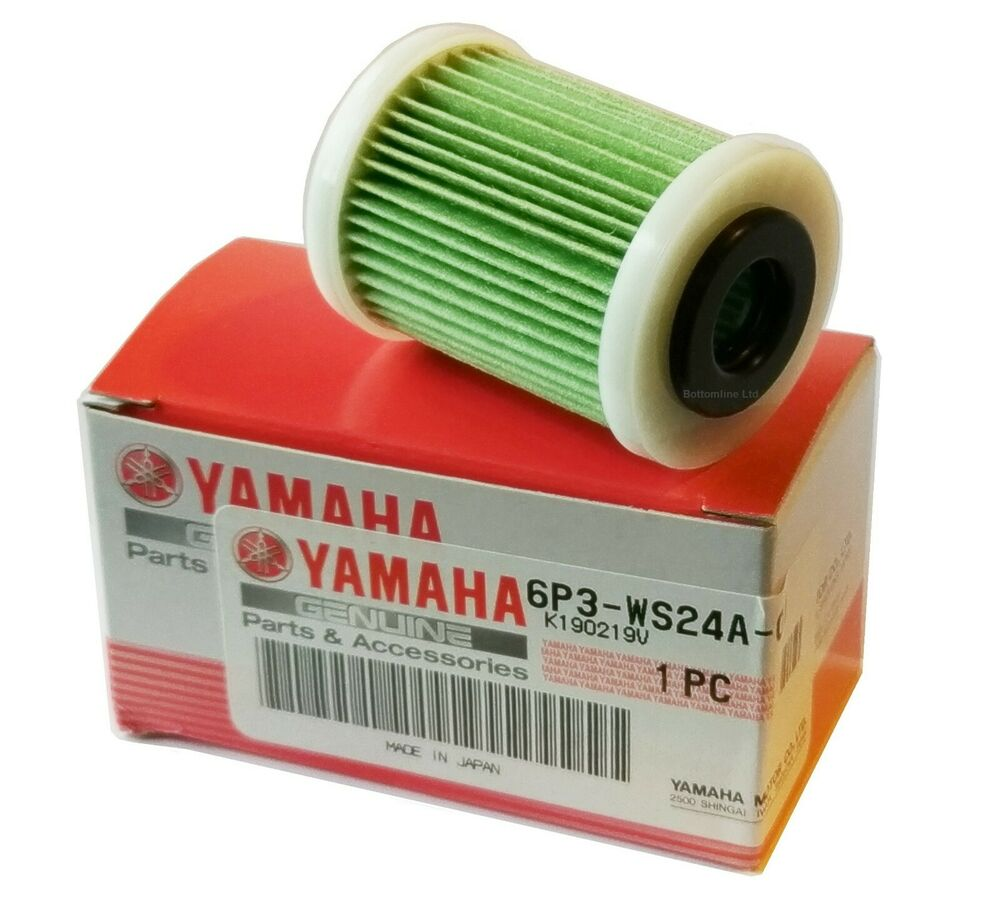 Yamaha genuine outboard fuel filter element 150 350 hp for Yamaha outboard fuel filters