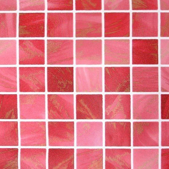 Mosaic Tile Effect Self Adhesive Wallpaper Roll Vinyl Peel