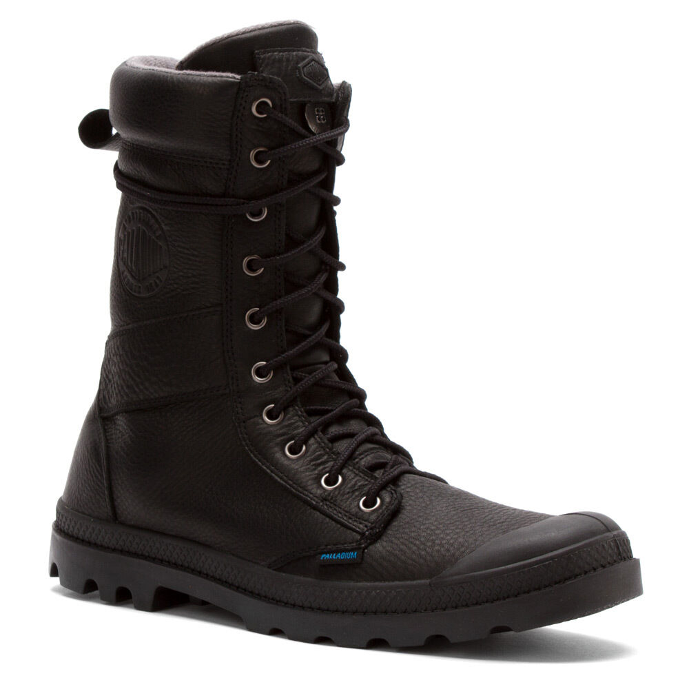 s palladium boots waterproof tactical leather wp black