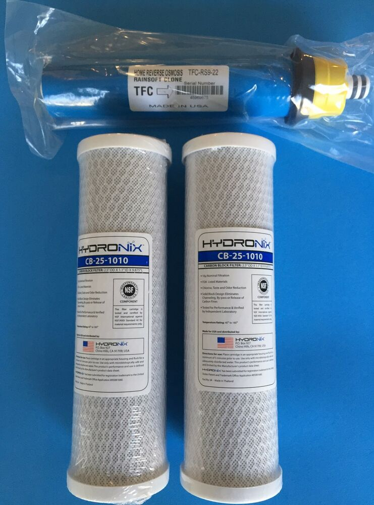 rainsoft ultrefiner uf22 uf22t uf22n 22 gpd filter pack - city water ...