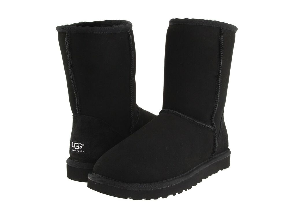 womens black short ugg boots