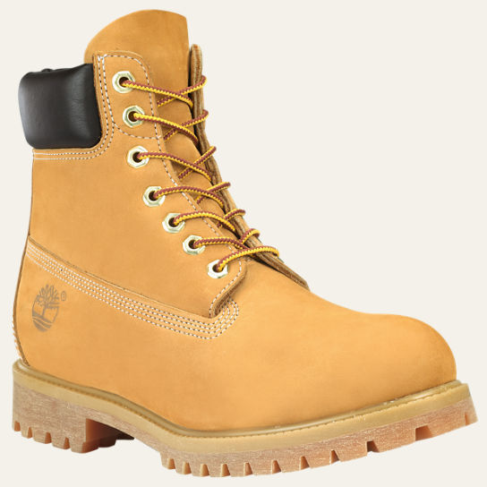 new men 39 s timberland 6 inch waterproof premium boots 10061 wheat nubuck ebay. Black Bedroom Furniture Sets. Home Design Ideas
