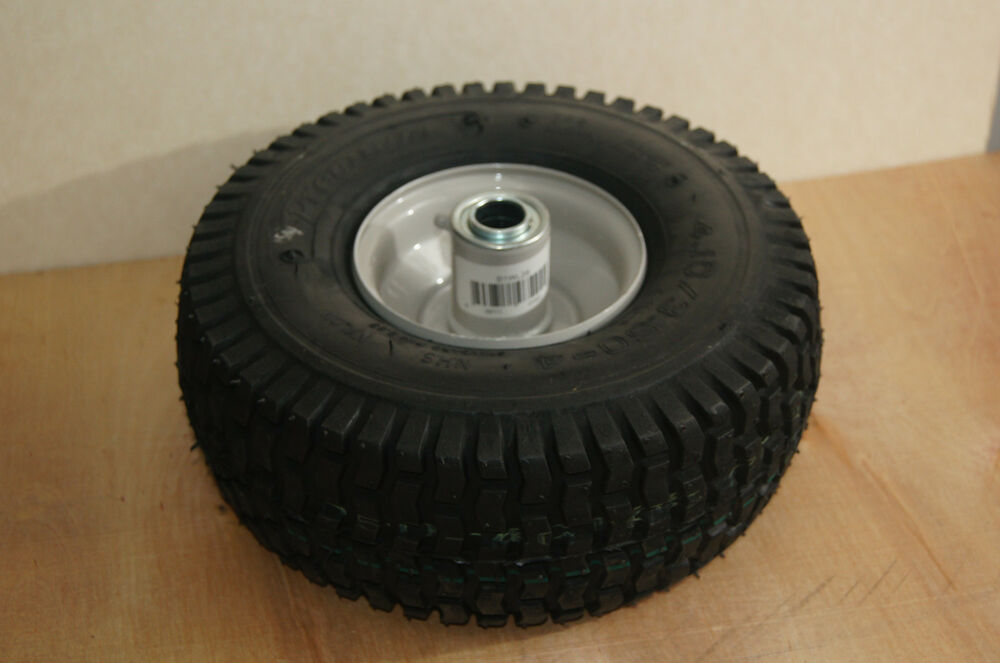 Snapper Riding Mower Wheels : Replacement front wheel tire combo for snapper
