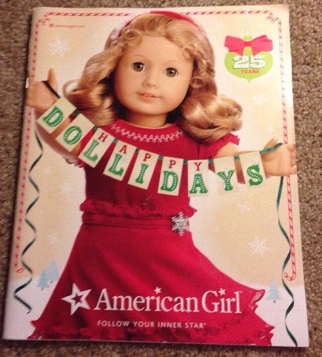american girl 2011 catalog featuring marie grace cecile