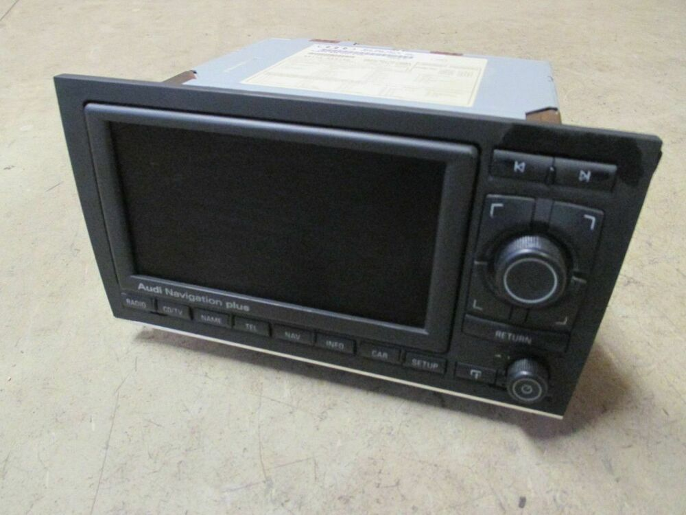 Navigation plus navi rns navigationseinheit audi a4 b6 8e for Mueble 2 din audi a4 b6