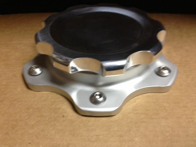 Billet Aluminum Easy Fill Fuel Cell Gas Cap With 6 Hole