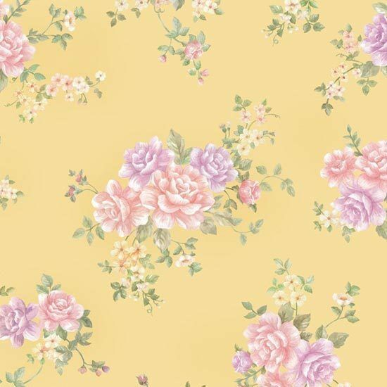 Contact paper floral rose garden self adhesive wallpaper for Rose adesive