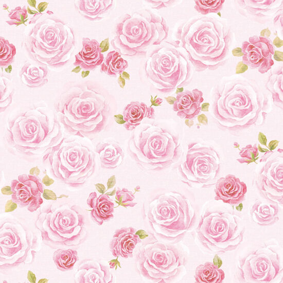 Blooming Rose Flower Wallpaper Pattern Ideas Self Adhesive