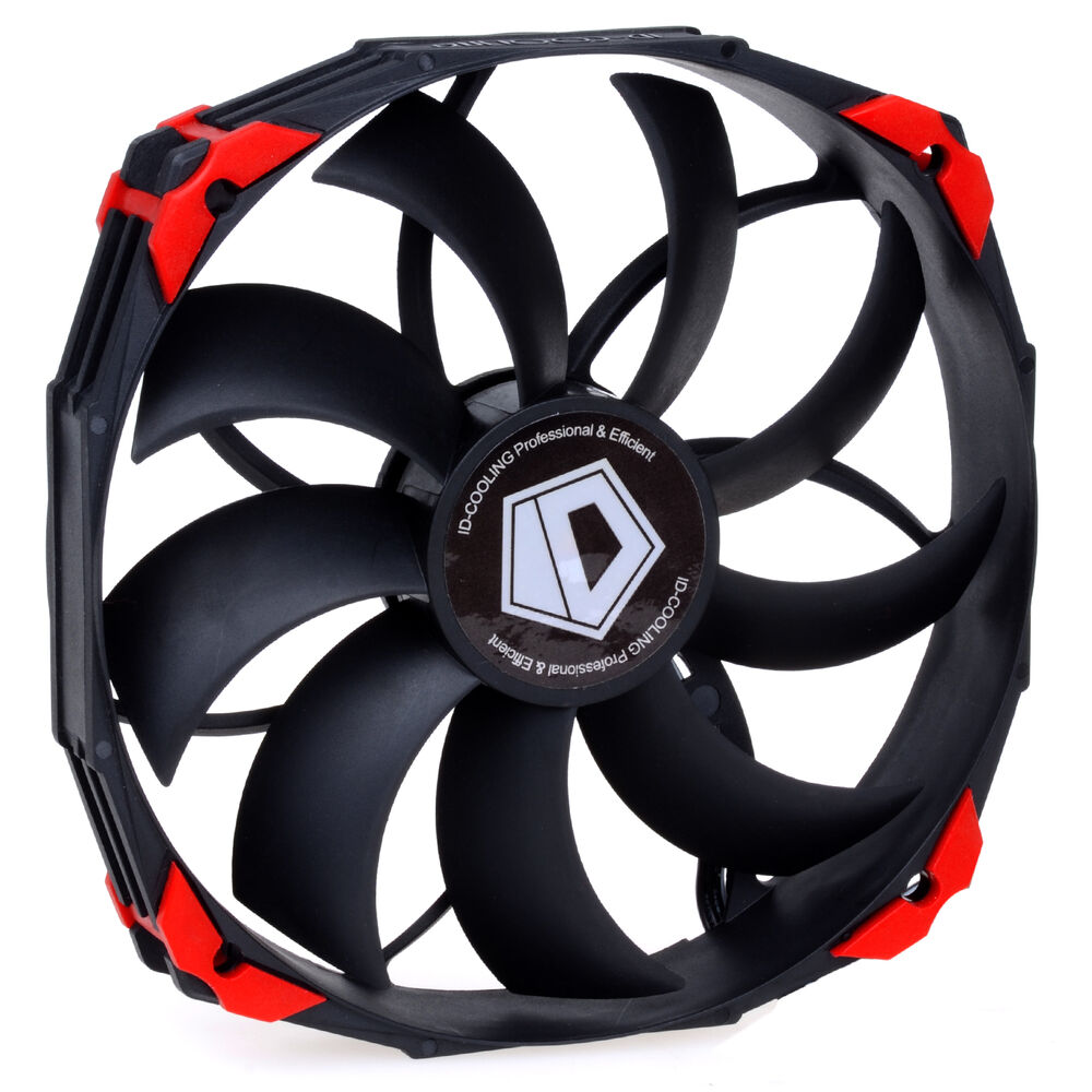 12v Cooling Fan : Big airflow dc v cooling fan chassis fans mm pwm pin