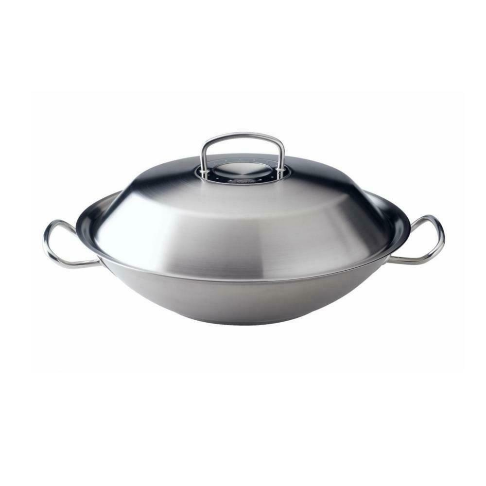fissler original profi collection wok asiatische edelstahl 35 cm. Black Bedroom Furniture Sets. Home Design Ideas