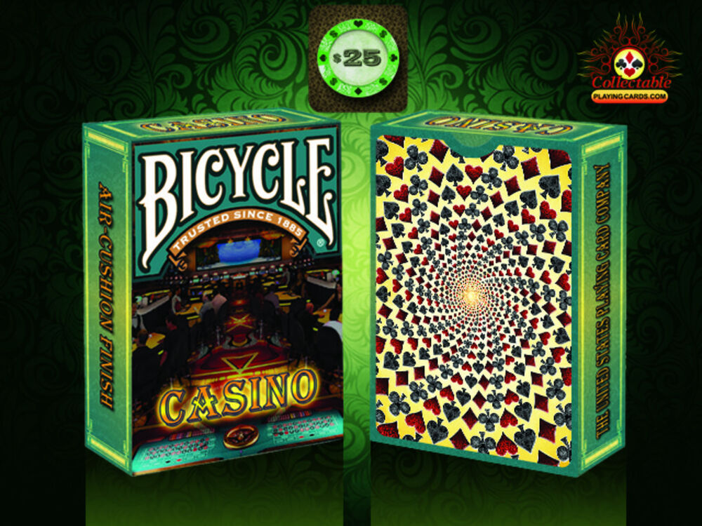Sealed casino playing cards