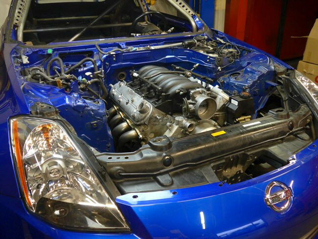 CXRacing LS LS1 Performance Header Headers for Nissan 350Z swap | eBay