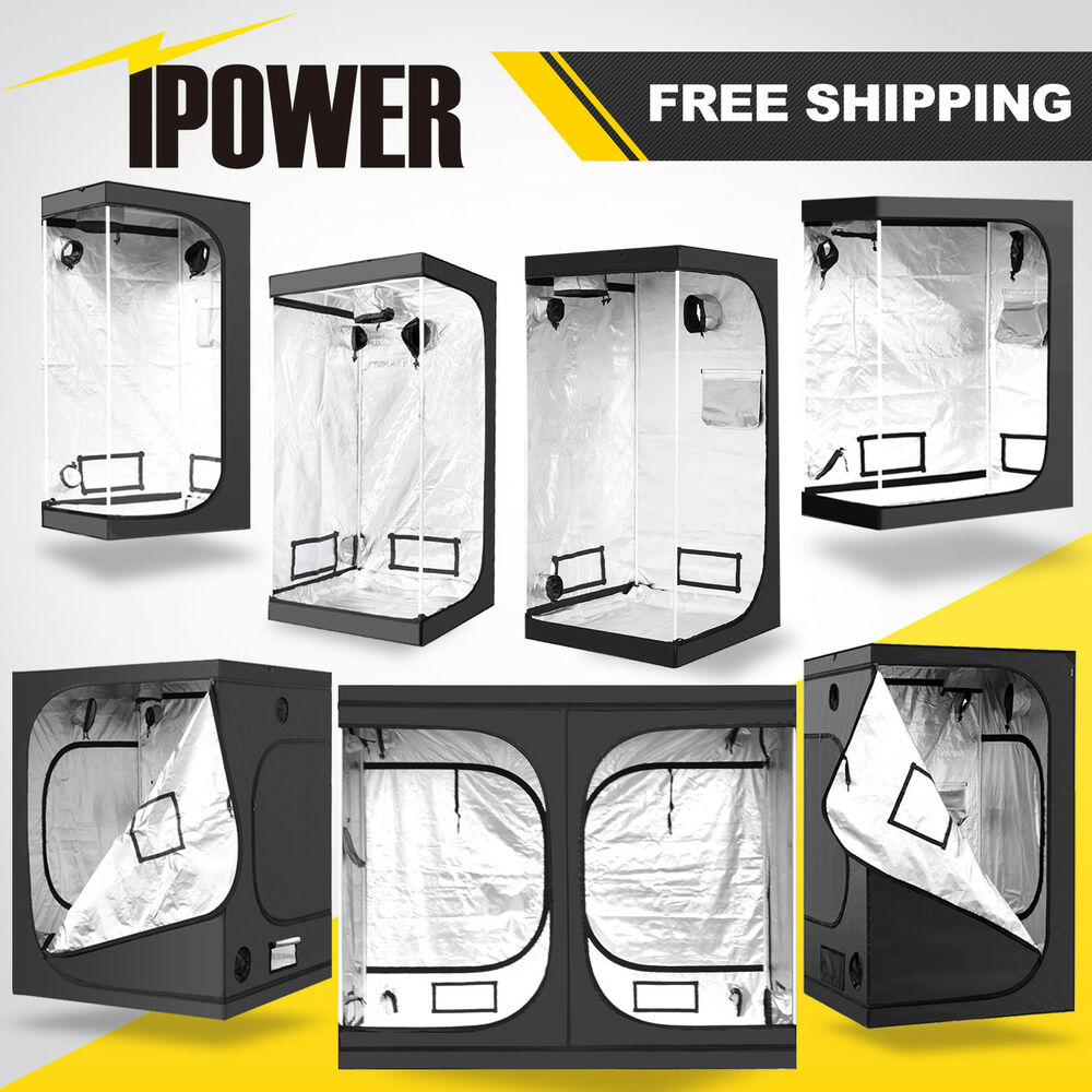 iPower Hydroponic Water-Resistant Grow Tent with Re.  sc 1 st  Overgrow.com & Are tents from eBay any good? - General Indoor Growing - Overgrow.com