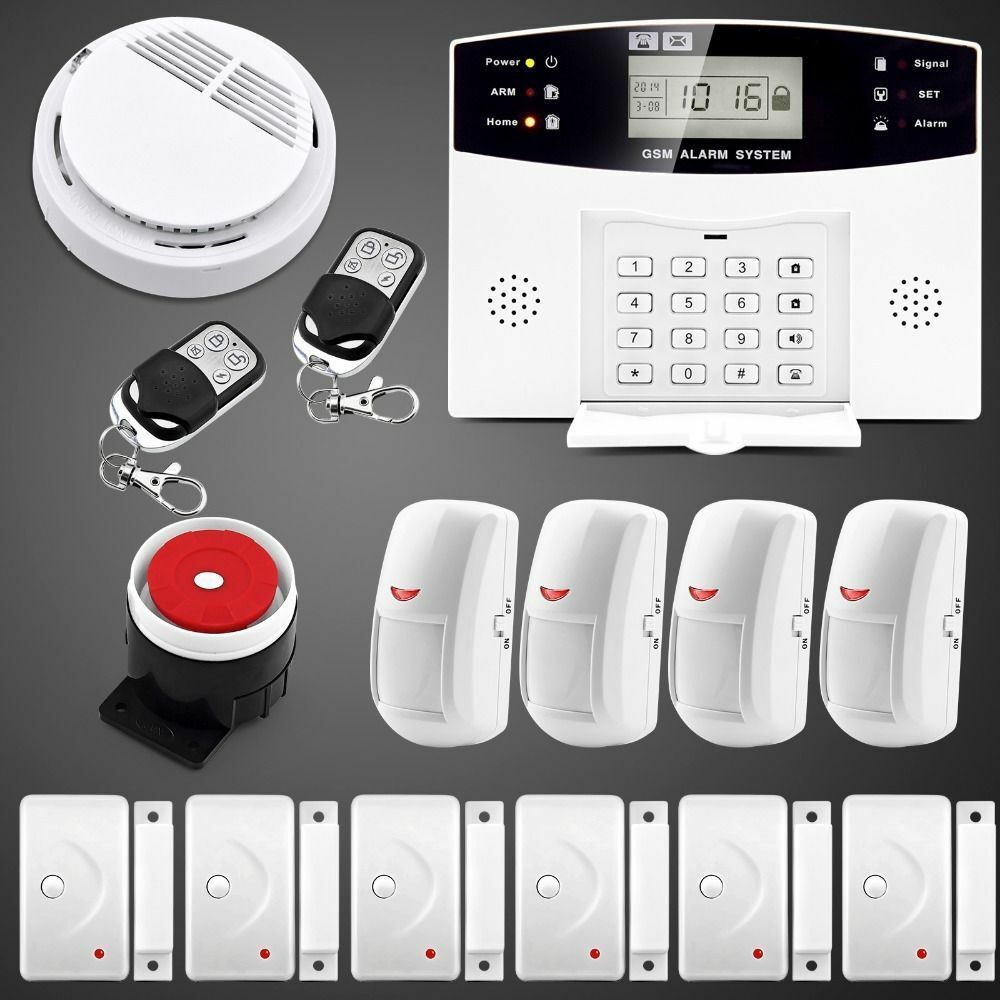 108 Zones Wired Wireless Gsm Home Burglar Security Fire
