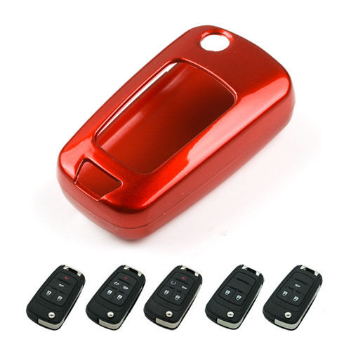 Keyless Entry Remote Key Fob Case Holder Red Cover For Gmc