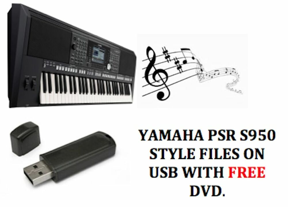 Yamaha psr s950 style files on a usb stick free midi for Yamaha psr s 950
