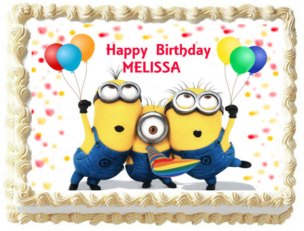 Buy Despicable Me Birthday Cake