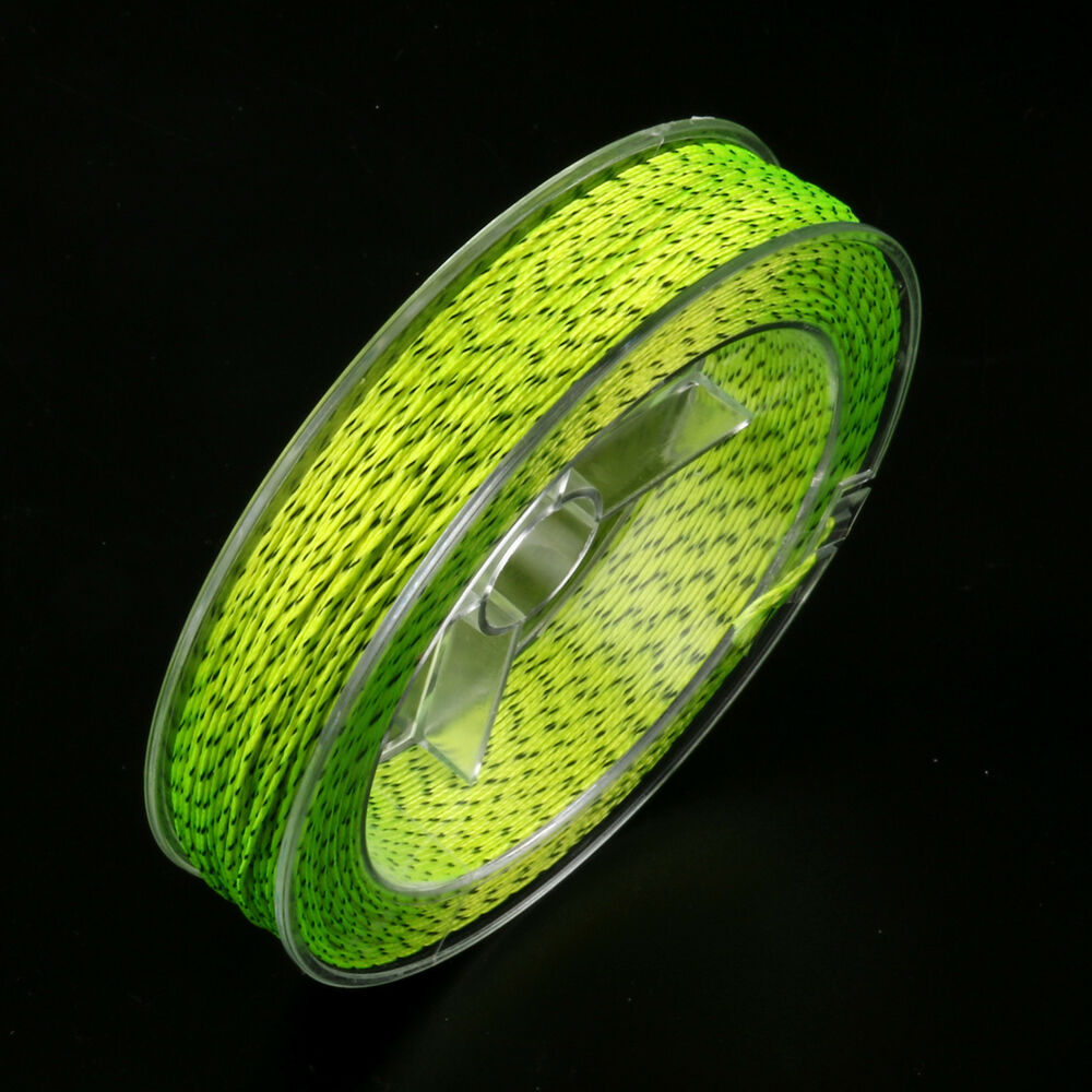 new black and yellow fly fishing backing line 100 yards