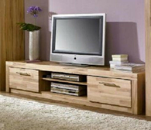 tv teil 3442 6 fernseh tisch lowboard rack kernbuche. Black Bedroom Furniture Sets. Home Design Ideas