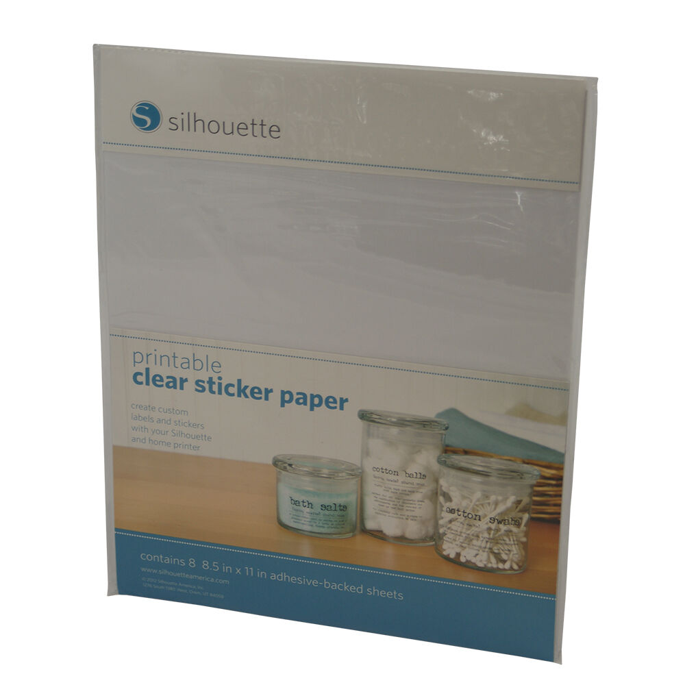 Gorgeous image pertaining to silhouette printable sticker paper