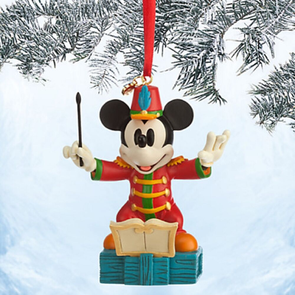 Disney store mickey mouse conductor sketchbook ornament the band concert nib ebay - Disney store mickey mouse ...