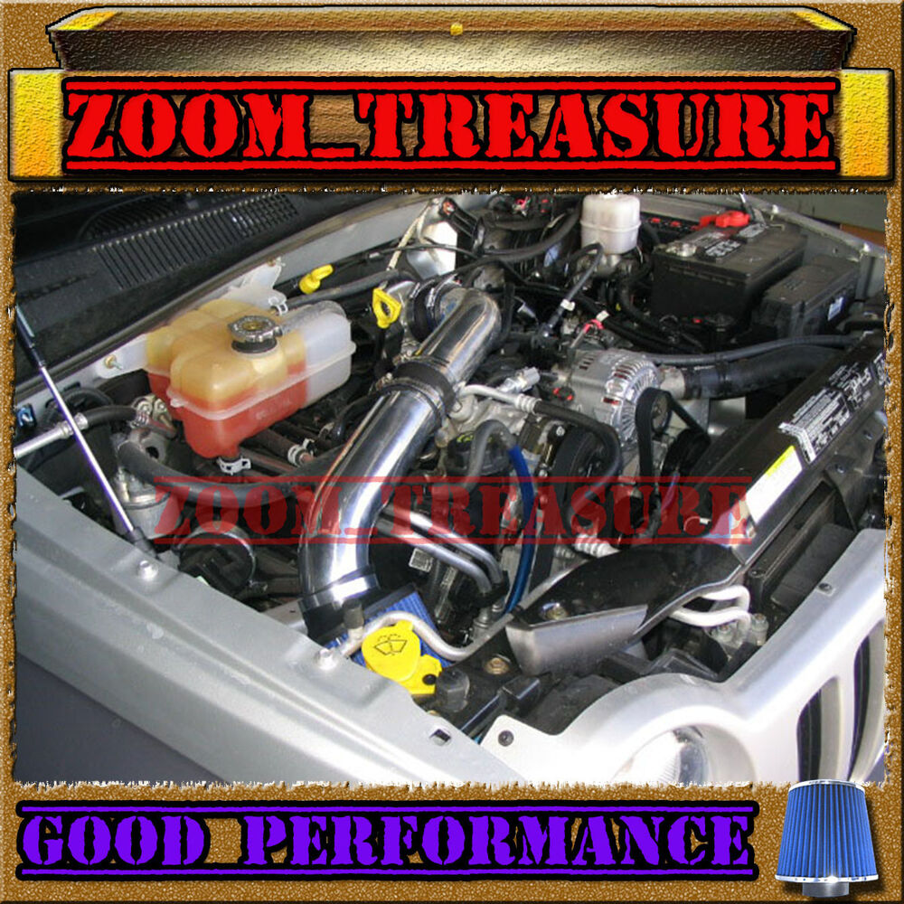 BLACK BLUE 2002-2003/02-03 JEEP LIBERTY ALL 3.7 3.7L V6