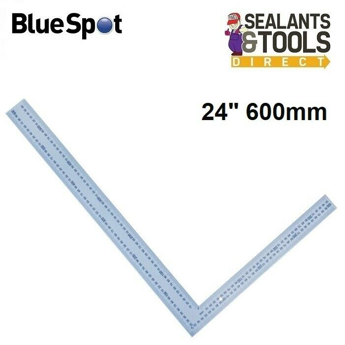 Carpenters Steel Framing Square 24 16 Inch Marking Out Rule Tool ...