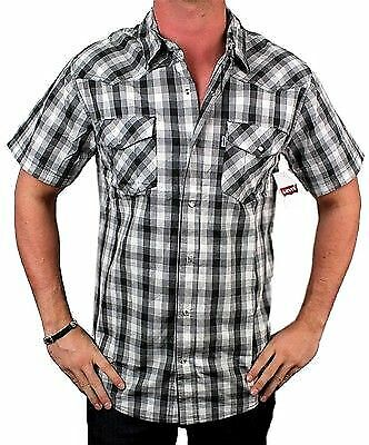 New Levi 39 S Men 39 S Cotton Short Sleeve Button Up Casual