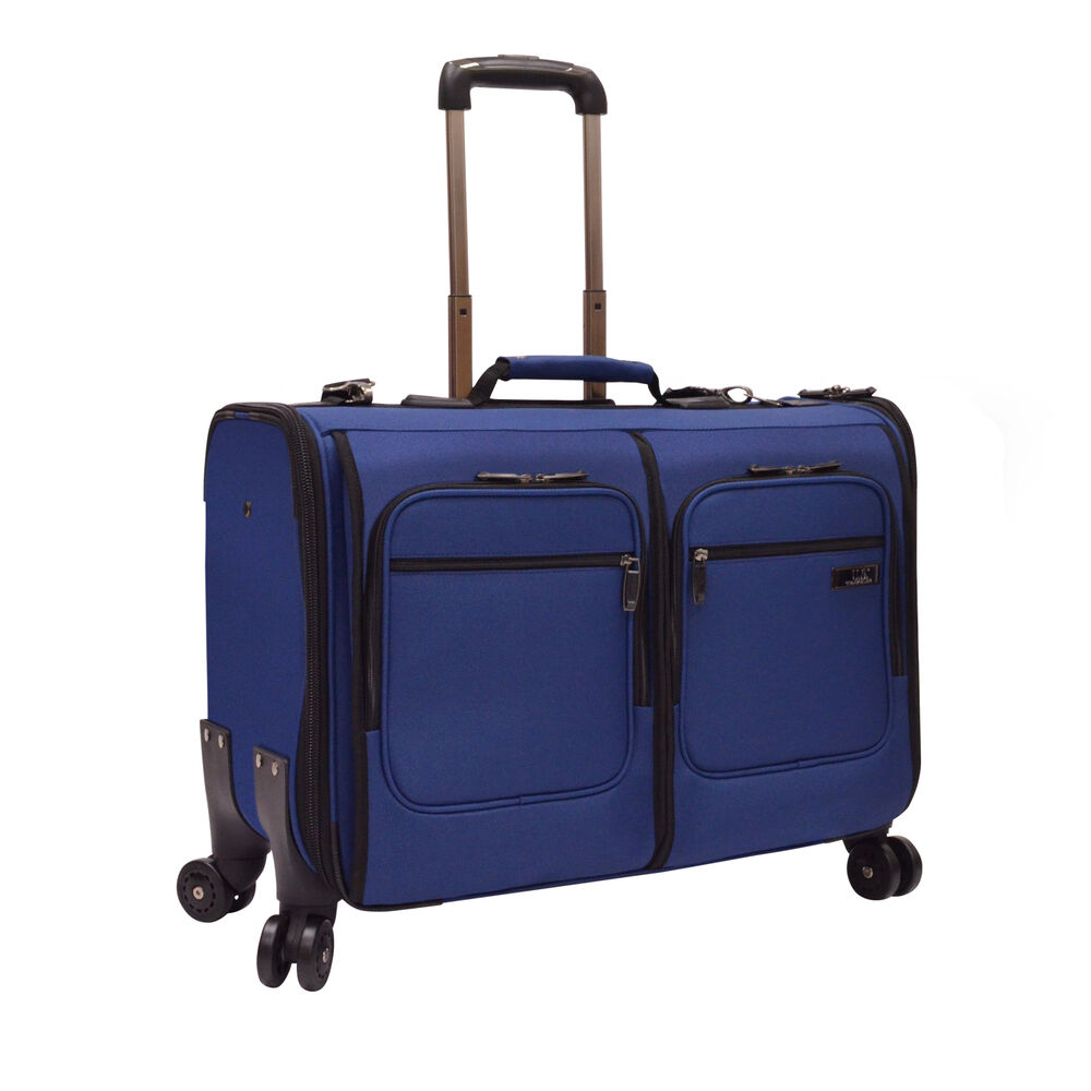garment_US Traveler Stimson 23? Blue Carry-on 4x Wheeled Spinner Rolling Garment Bag ...