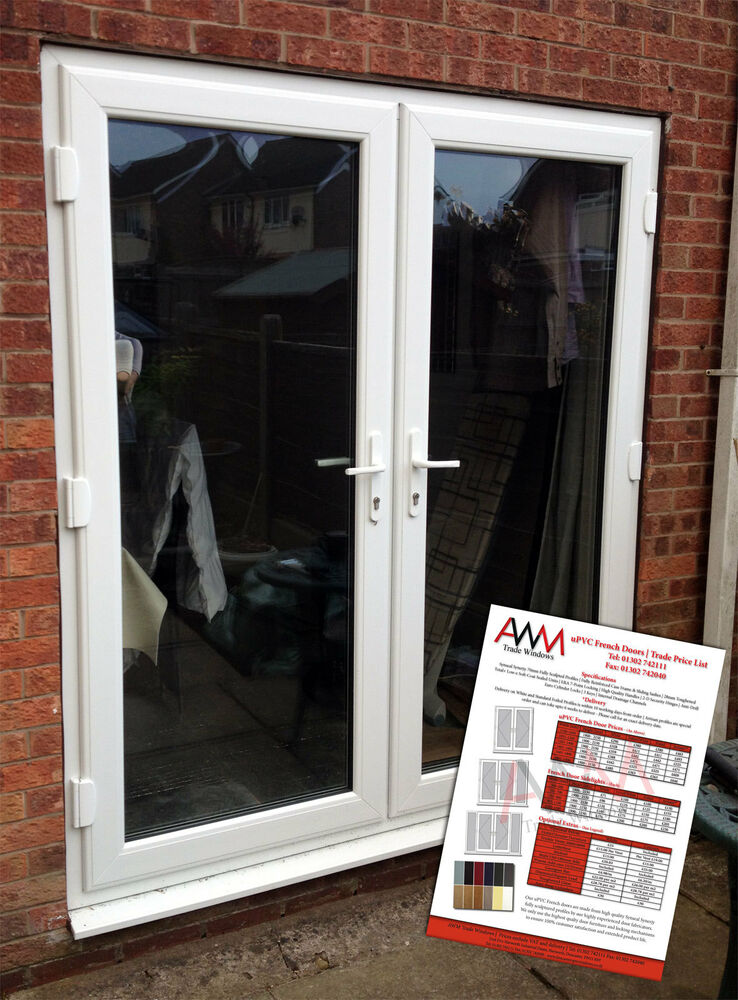 Upvc French Doors Price List Ebay