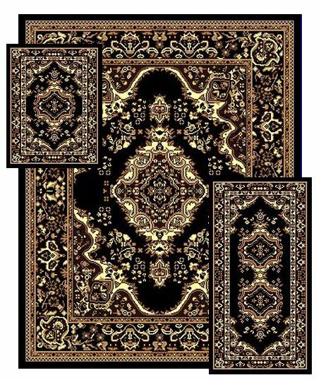 Oriental Rugs Out Of Style: Rugs Set Traditional Medallion Oriental Style 3 Pcs Area