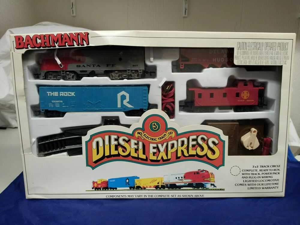 Bachmann ho electric train set diesel express tuning