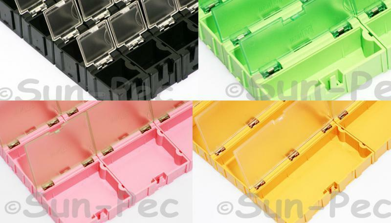 Anti Static Storage : Anti static electronic components boxes smt smd storage