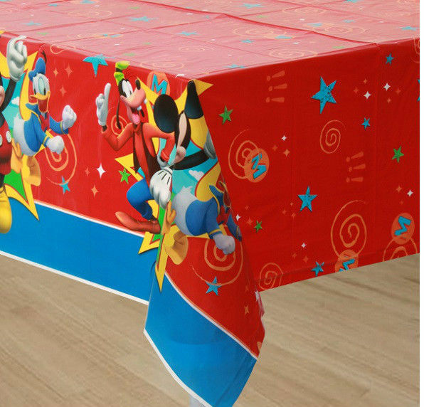 Disney Mickey Mouse & Friends Birthday Large Table Cover