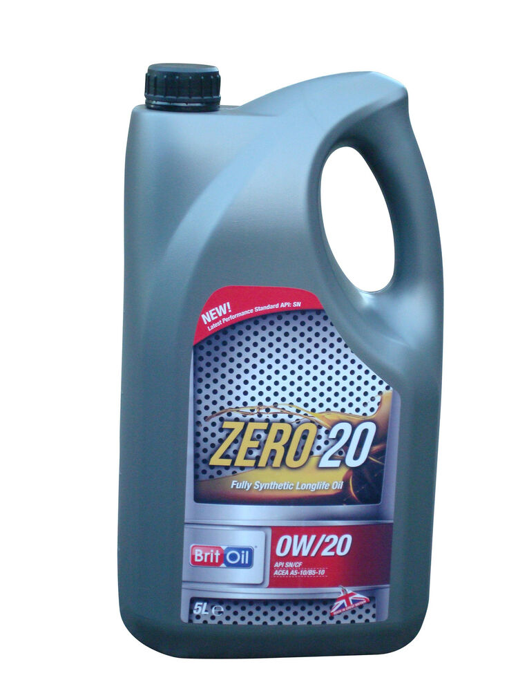 Britoil 0w20 Fully Synthetic Engine Oil 5l Pack Islac Gf4