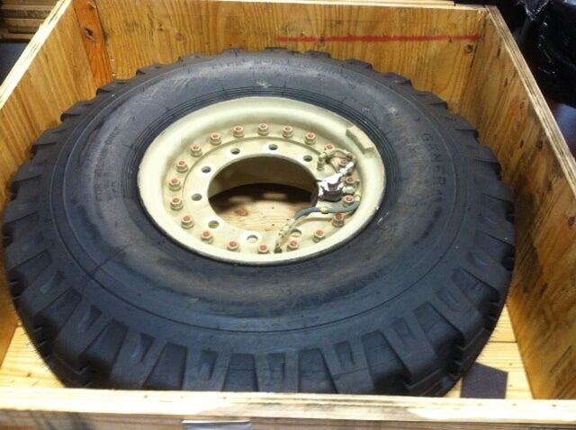 Military Car Lot >> General Tire 14.00-20, 18 Ply Military Tire Wheel Assembly Appears Unused | eBay