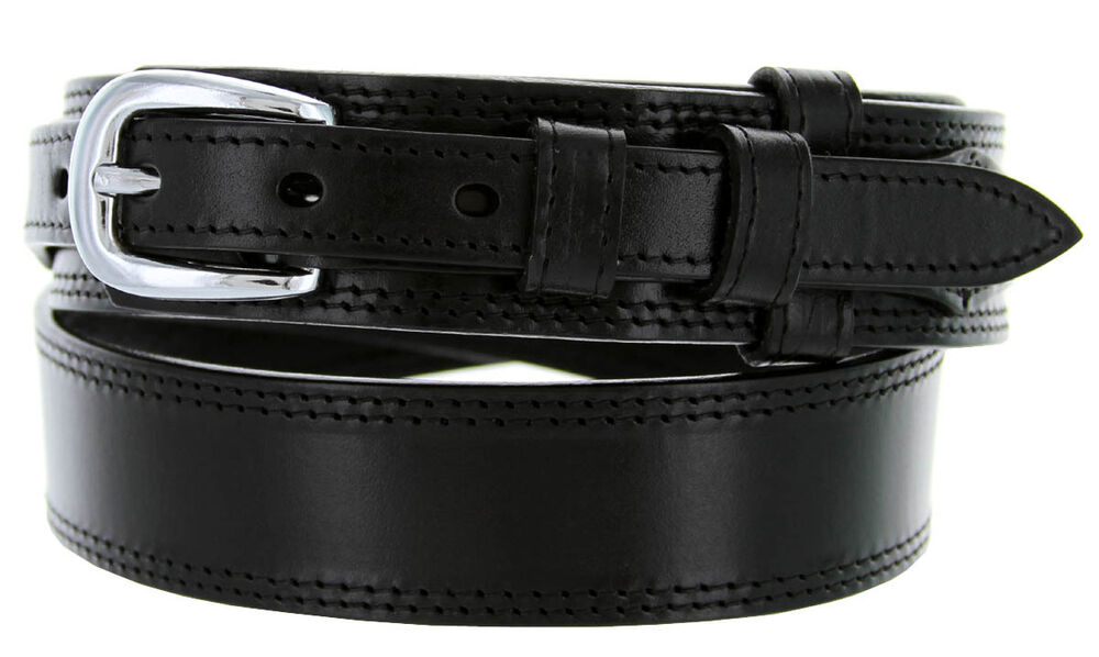 Western Genuine Leather Durable Ranger Belt 1 3 8 Quot To 3 4